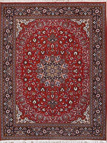 Rug Source New Mahal Machine Made Persian Traditional Area Rug 10x13 (12' 6
