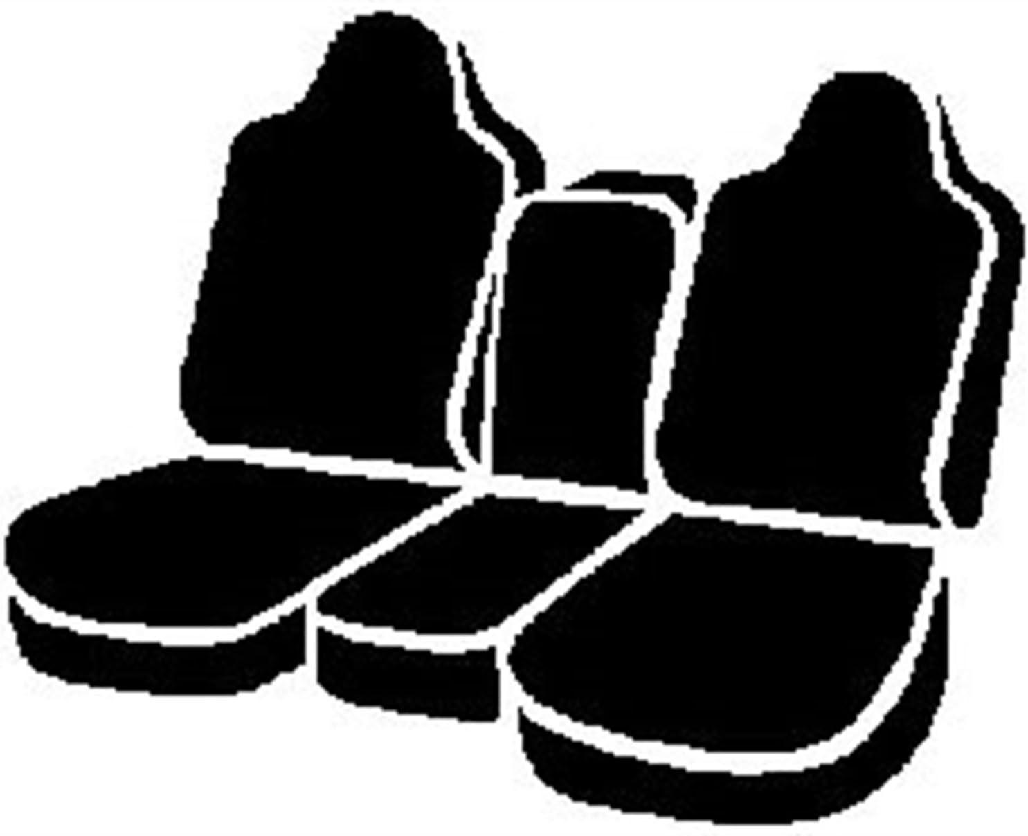 Saddle Blanket, Fia TR47-10 Black Custom Fit Front Seat Cover Split Seat 40//20//40 Black