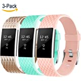 Vancle Bands for Fitbit Charge 2, Soft Comfortable Charge 2 Replacement Band for Fitbit Charge 2 Sport Accessory Fitness Wristband Small Large