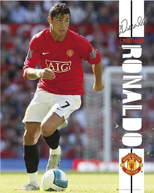Empire 106117 Cristiano Ronaldo de balón de fútbol póster de 40 x ...