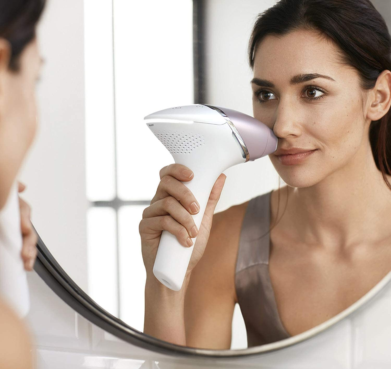 Haarentfernung IPL Philips Frau Damenbart Gesichtsbehaarung Entfernung Schön Badezimmer