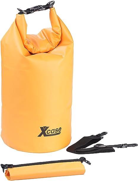Wasserdichter Packsack Drypack 20 Liter gelb