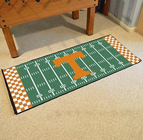 NCAA University of Tennessee Volunteers Football Field Runner Mat Area Rug by Unknown (Image #2)