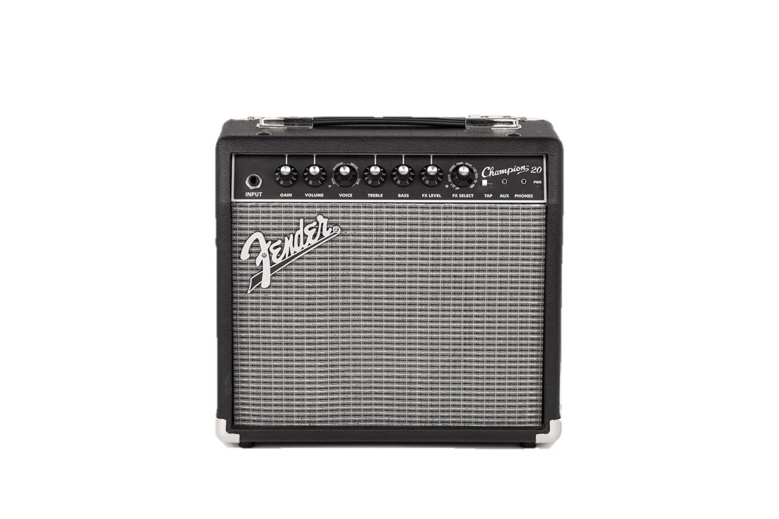 1. Fender Champion 20 - 20-Watt Electric Guitar Amplifier