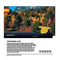 Garmin TOPO Spanien v6 PRO Topographische Vektorkarte, Mehrfarbig, One Size