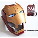 Gmasking Electronic Open/Close Iron Man MK42 Wearable Helmet 1:1 Replica (No Included Batteries)