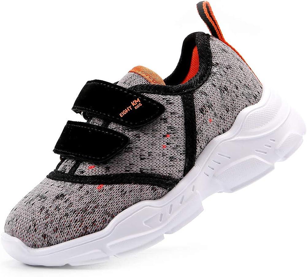 EIGHT KM Zapatos para niños pequeños/niños pequeños/niños Grandes Niñas Niños Zapatillas Deportivas Ligeras: Amazon.es: Zapatos y complementos