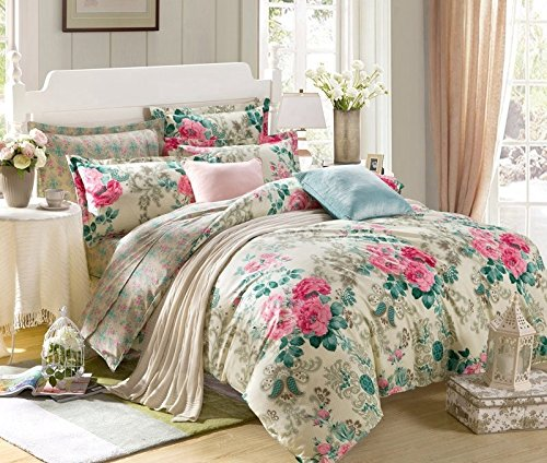 Ahmedabad Cotton Comfort 160 TC Cotton Single Bedsheet with 1 Pillow Cover – Multicolour