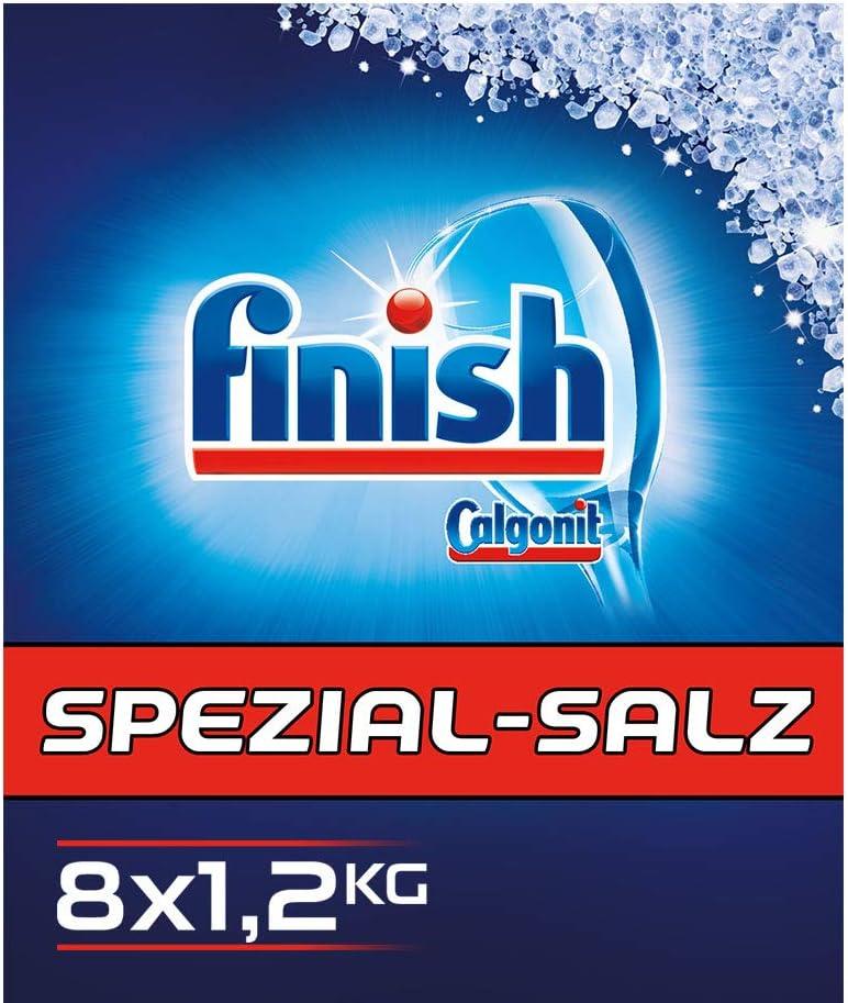 Acabado especial Sal (Pack de 8, 8 x 1.2 kg): Amazon.es: Salud y ...