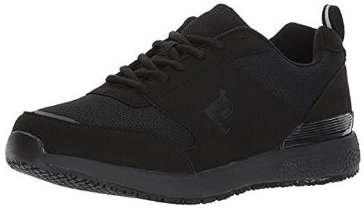 Propet Men's Villager Shoe Black 10 X (3E) & Oxy Cleaner Bundle