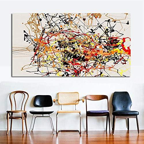 キャンバスアート抽象絵画家の装飾絵画壁写真用リビングルームプリント絵画キャンバス50×100センチなしフレーム