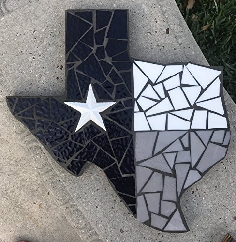 Dallas Cowboys Inspired Texas , Mosaic Stained Glass Texas