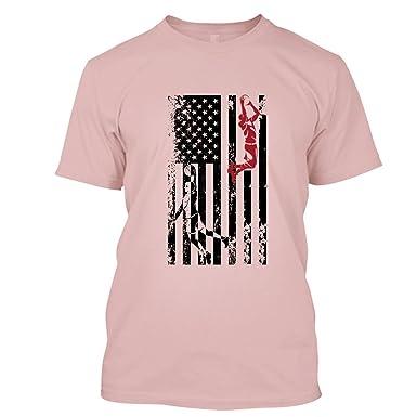 Amazon.com: BigTees Basketball T Shirt - Basketball Flag Cool T ...