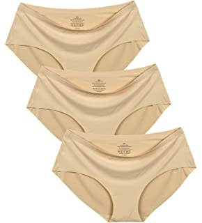 Womens No Show Hiphugger Panties Pack of 6