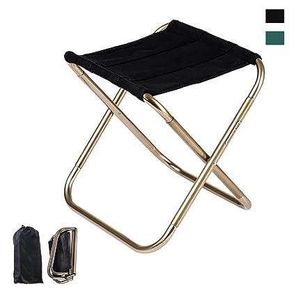 Folding Chair,iDeep 420D Nylon 7075 Aluminum Alloy Portable Folding Stool  Camping Stool Fish Chair