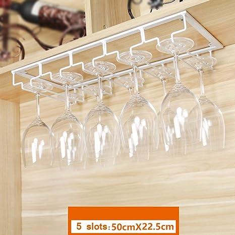 Wall Mount Holder Goblet Rack Hanging Shelf Wine Glass Holder Goblet Storage