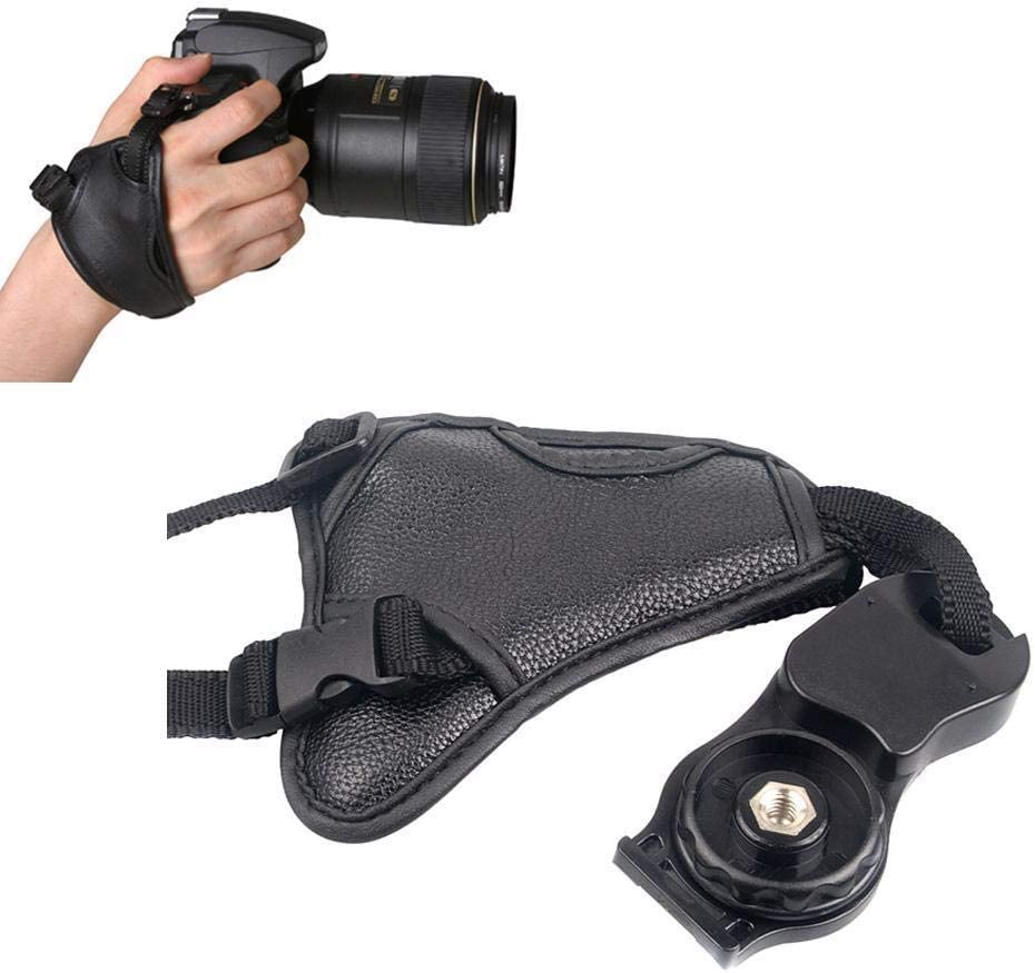 5pcs Camera Hand Strap Grip for Nikon D7000 D5100 D5000 D3200 for Sony Brand Leather