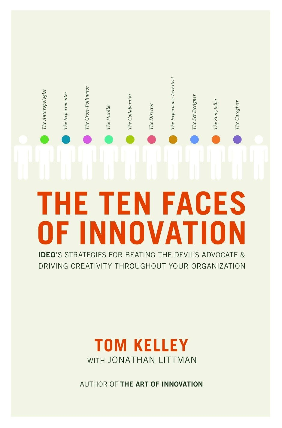 The Ten Faces of Innovation: IDEO's Strategies for Beating the Devil's  Advocate and Driving Creativity Throughout Your Organization: Tom Kelley,  ...