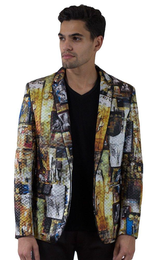 Barabas Men's ''Roaming'' Blazer Jacket XX Large