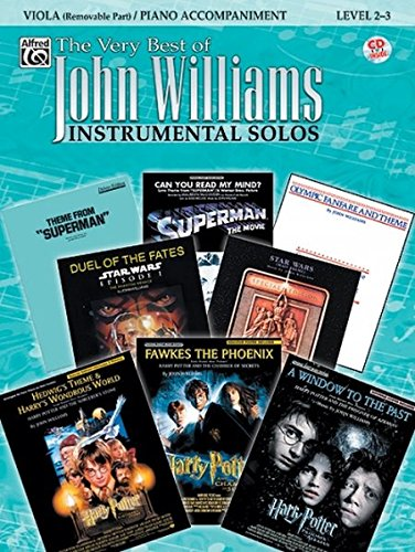 The Very Best of John Williams for Strings: Viola (with Piano Acc.), Book & CD