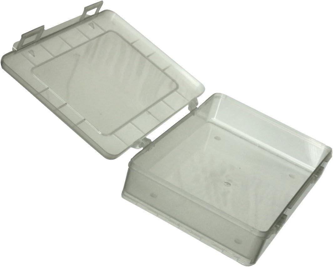 AERZETIX: Caja Transparente 180x149x40mm sin Compartimentos plastico C17607
