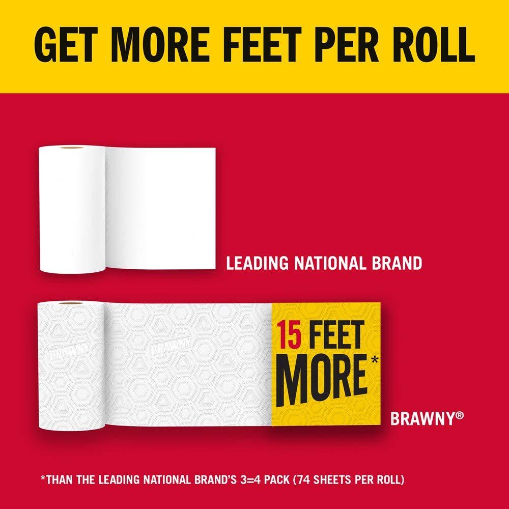 Brawny Paper Towels, 16 XL Rolls, Pick-A-Size, White, 16 = 32 Regular Rolls by Brawny (Image #8)