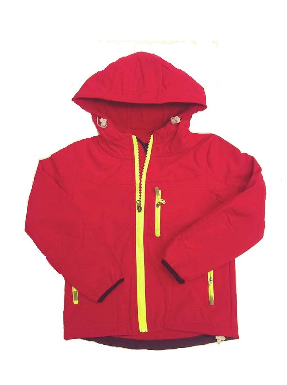 Girls Boys Waterproof Rain Jackets Wind Breaker Lined Jackets Hooded Warm Age 3-9 Years