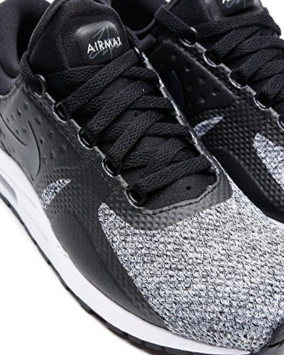 Nike Air Max Nul Essentieel Gs Jeugd Loopschoenen Zwart Antraciet Wit 003