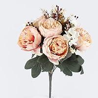 Cipsolu Şakayık Demet Gül Yapay Çiçek BEJ