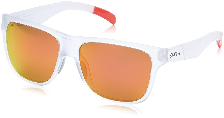 Amazon.com: Sunglasses Smith Lowdown/N/S 06XQ Crystal Red ...