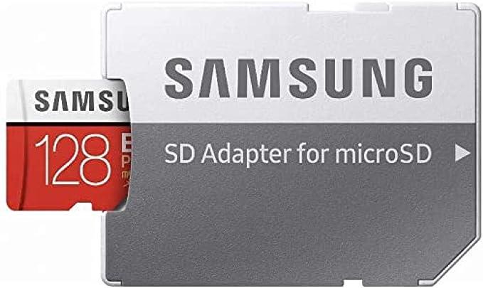 Micro SD128GB EVO+w SD Adapter Class 10