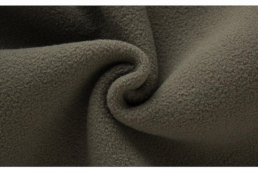 CIKRILAN Homme Gilet Polaire Chaud Confort Doux Léger Full Zip Veste Polaire sans Manches Bodywarmer Outdoor Manteau Vert