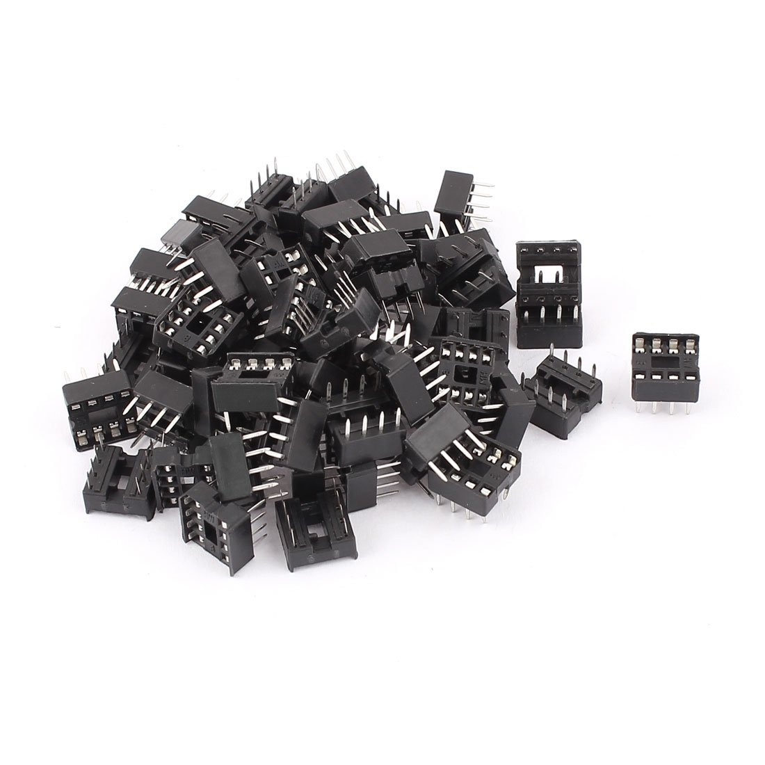 10x DIP8 8 Pin Integrated Circuit IC Sockets Adaptor Solder Type