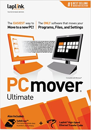 amazon com laplink pcmover ultimate 10 1 use