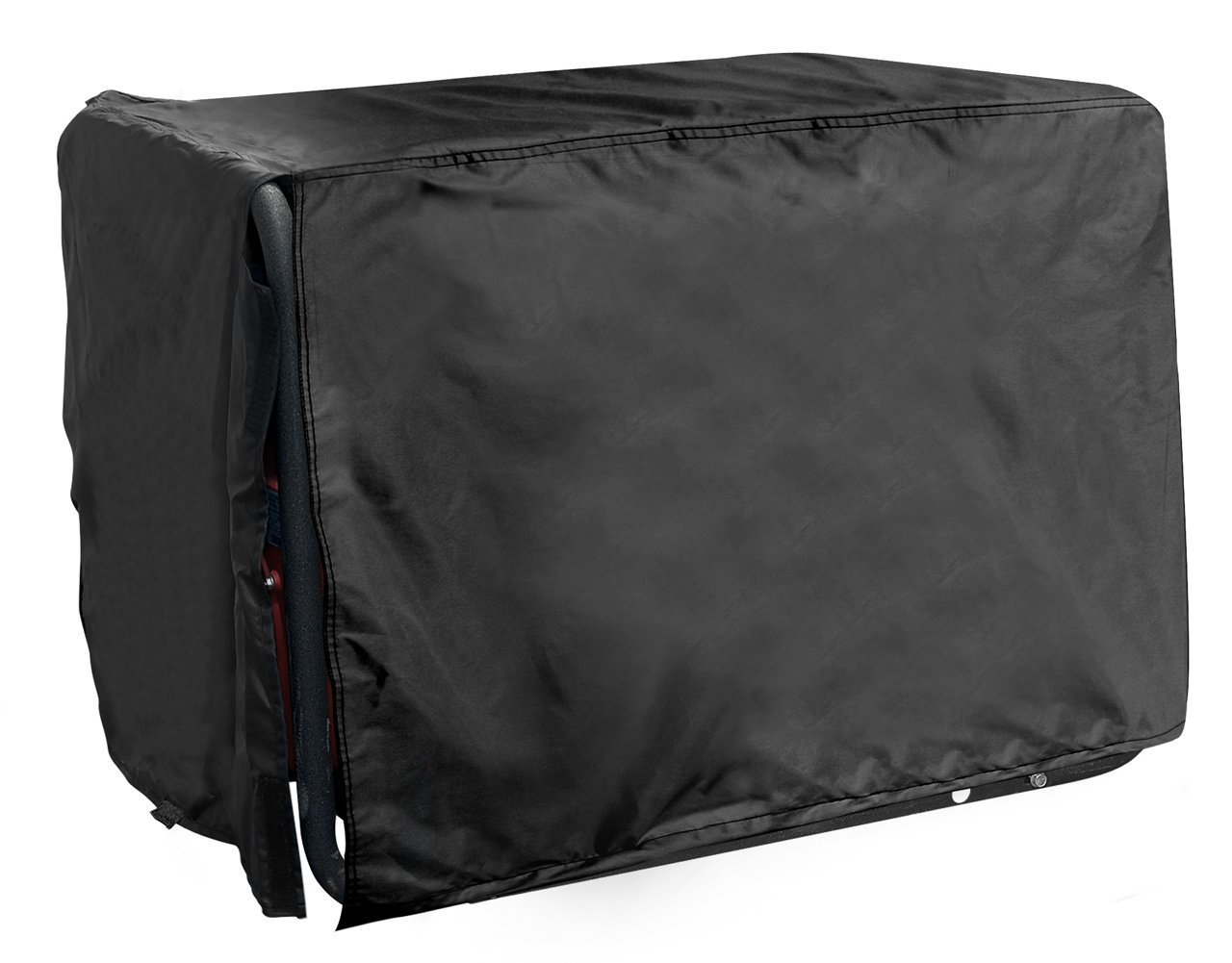 All Weather Protected Durable Black Eletric Generator Cover (Large)