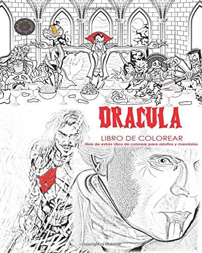 Buy Dracula Libro de Colorear libre de estrés Libro de Colorear para ...