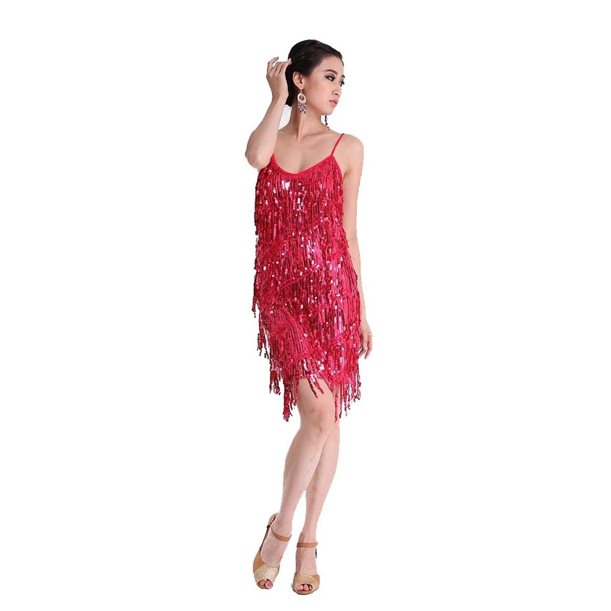 Amazon.com: Pilot-trade - Vestido de baile para mujer con ...