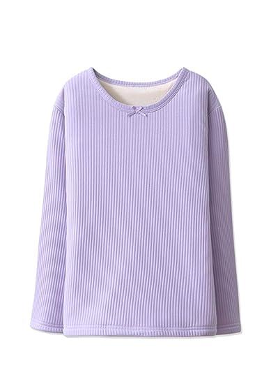 2f21f8e7e Wentsven - Camiseta térmica - para niña Morado Morado (7-8 Años  Amazon