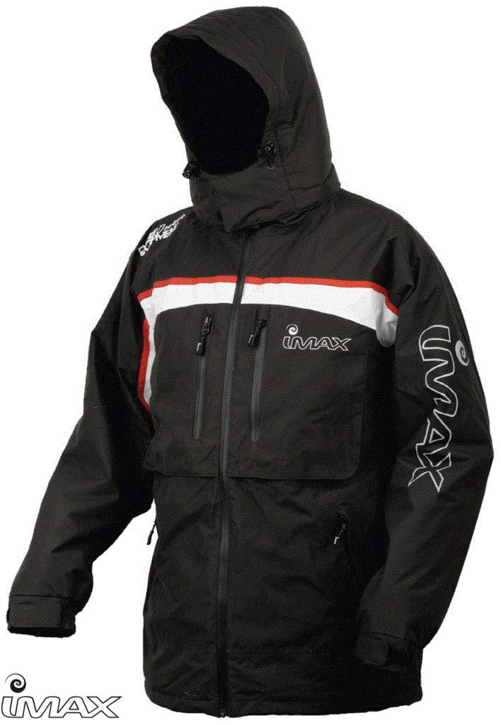 IMAX Ocean Thermo Jacket grey/Red SZ M Giacca