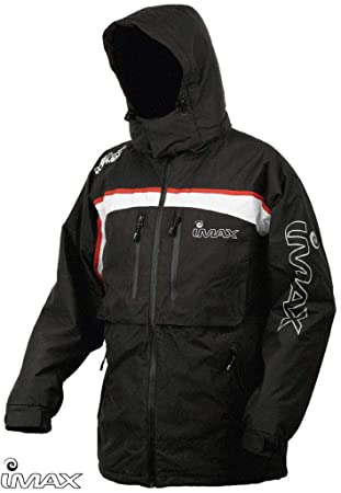 IMAX Ocean Chaqueta Térmica Jacket Grey/Red SZ M: Amazon.es ...