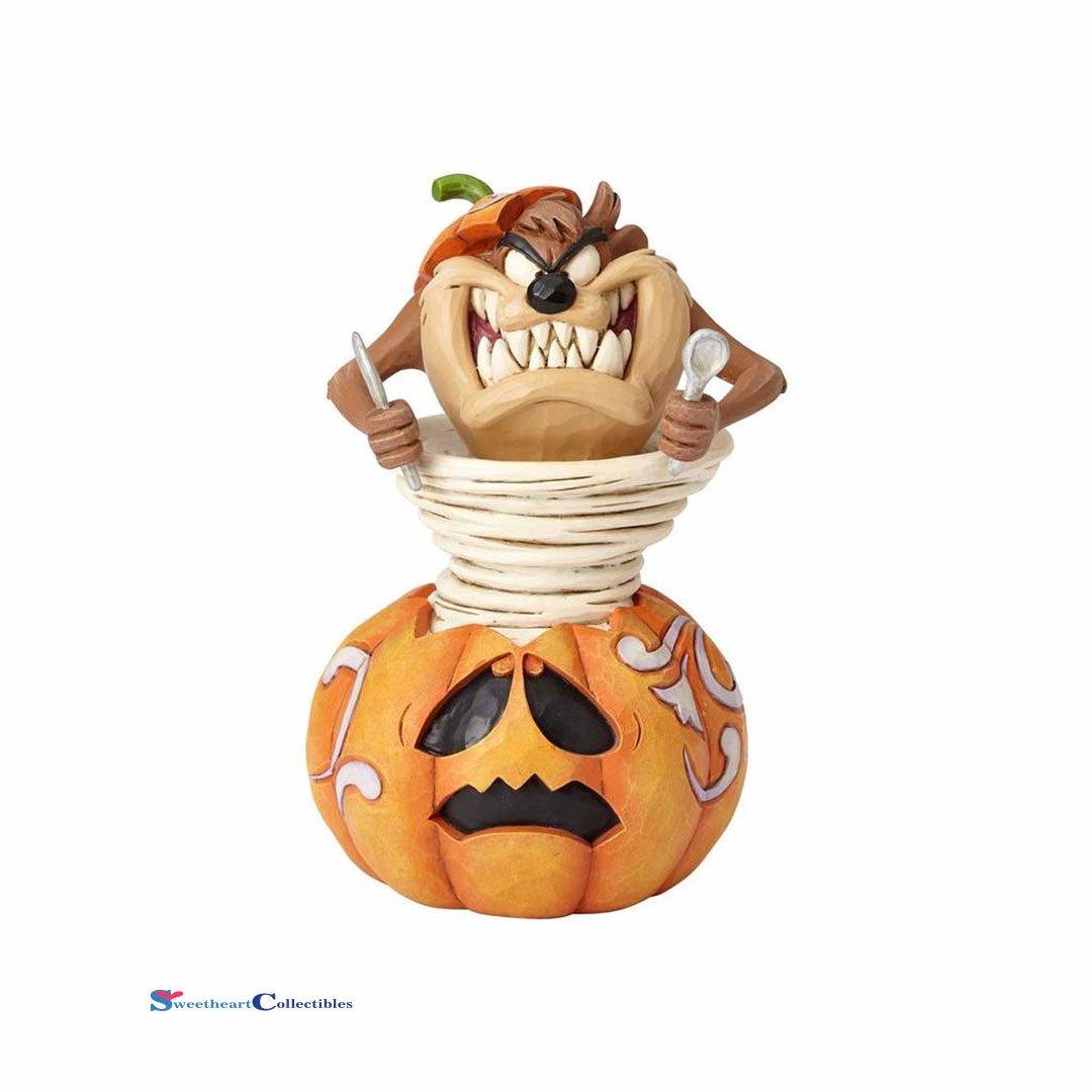 Unbekannt Jim Shore Looney Tunes 4052812 Halloween Kürbis Taz Figur