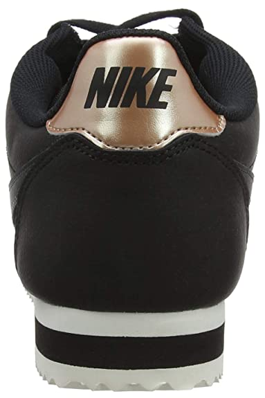 Amazon.com | NIKE Womens Classic Cortez Leather Black/Anthracite Casual Shoe 10 Women US | Fashion Sneakers
