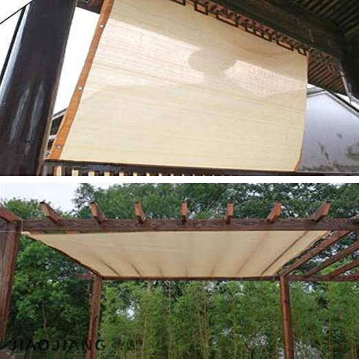 PENGFEI Malla Sombra, Instalaciones Al Aire Libre Respirable para Cubierta De Pérgola Toldo Toldo Toldo con Ojales, 22 Tamaños (Color : Beige, Size : 3x6m): Amazon.es: Hogar