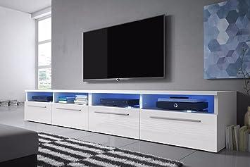 Siena Double Lowboard Tv Unit Tv Cabinet Amazon Co Uk Electronics