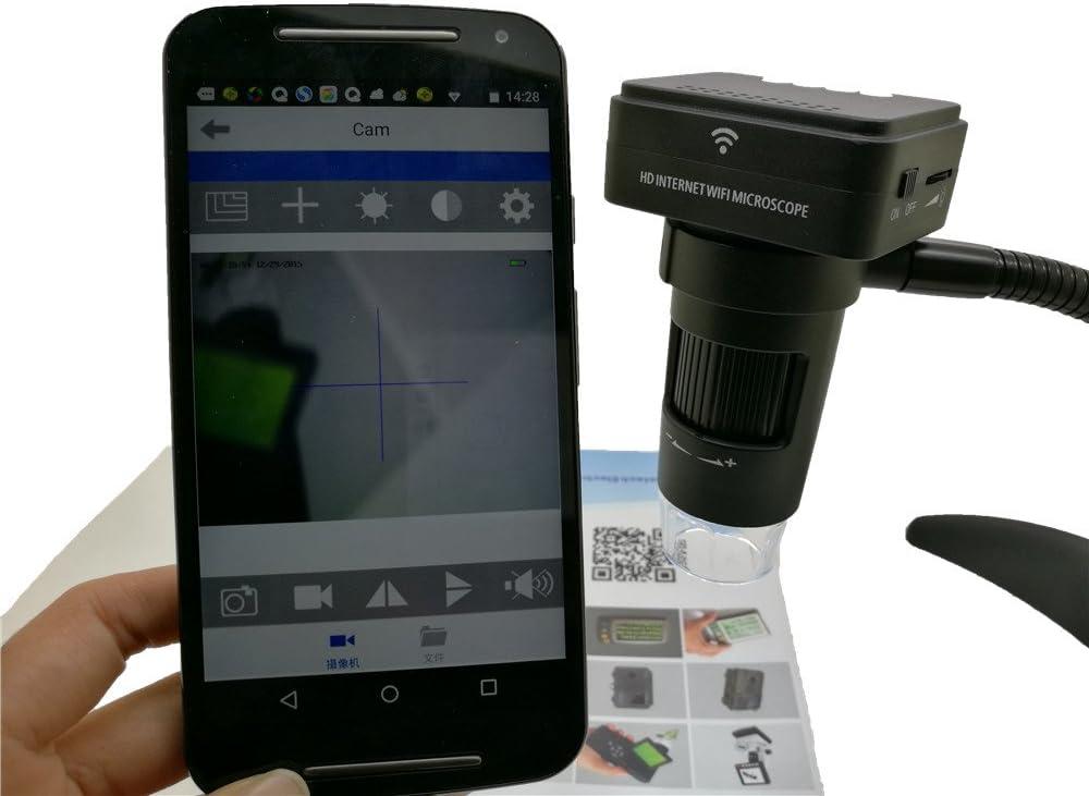 New Landing 2MP 1920X1080 10-200X WiFi IP Microscope