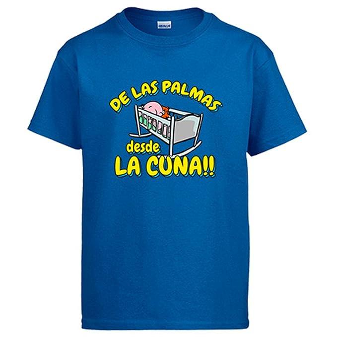 Camiseta de Las Palmas desde la cuna Gran Canaria fútbol - Azul Royal, S
