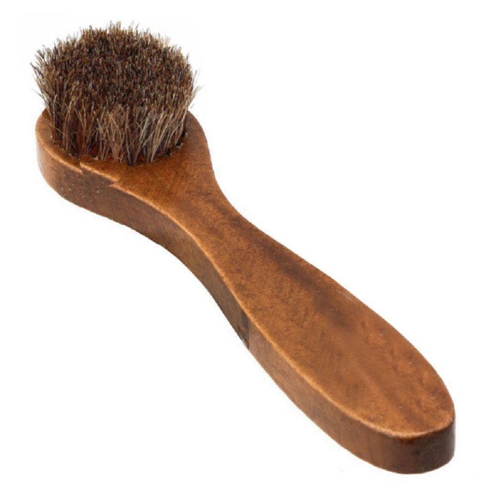 100% Horse Hair Welt Dauber Shoe Brush