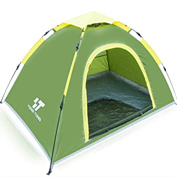 Yongtong 3-4 person Outdoor Tents 4 Season Automatic Pop Up Ultralight Backpacking Tent  sc 1 st  Amazon.com & Amazon.com : Yongtong 3-4 person Outdoor Tents 4 Season Automatic ...