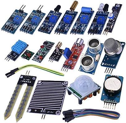 kuman para Arduino Proyecto Kit de Inicio Completo con Detalles tutoriales y componentes fiables para UNO R3 Mega 2560 Robot Nano Kit de panera: Amazon.es: Electrónica