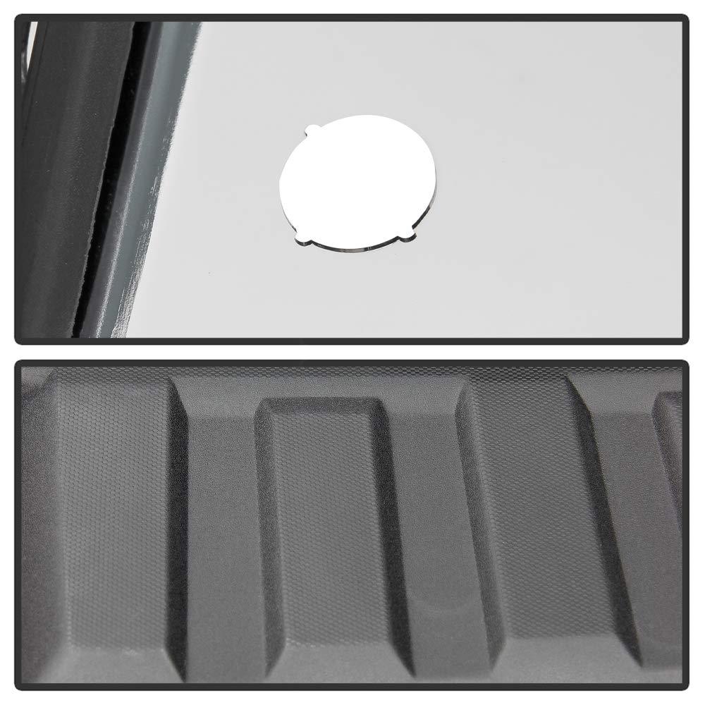 For 2014-2018 Chevy Silverado//GMC Sierra 1500 Chrome Rear Step Bumper Assembly W//Sensor Holes /& w//Corner Holds ACANII